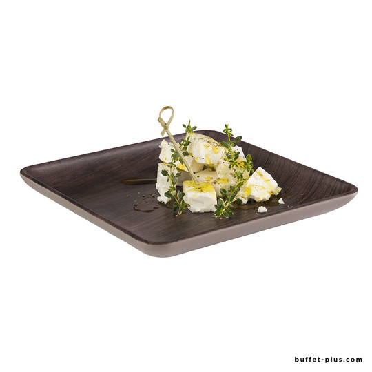 Assiette / plateau carré Oak