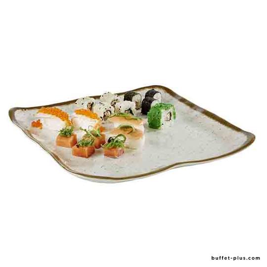 Assiette / plat Stone Art 33 x 32,5 cm