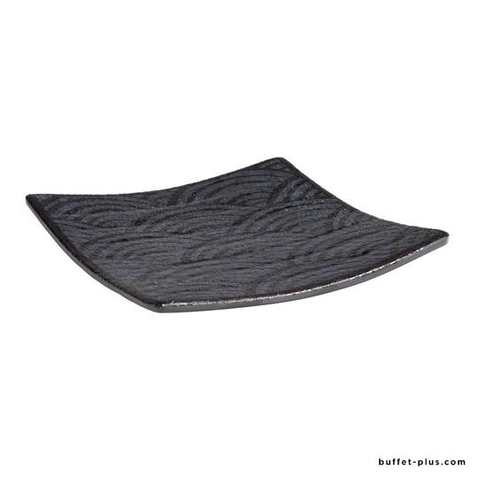 Plateau carré / assiette Dark Wave