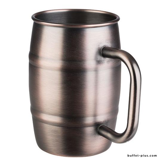 Chope à bière en inox