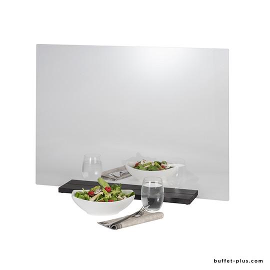 Panneau plexi de table