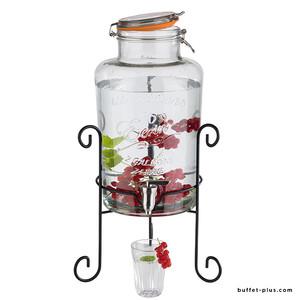 Fontaine à boisson verre Old Fashioned